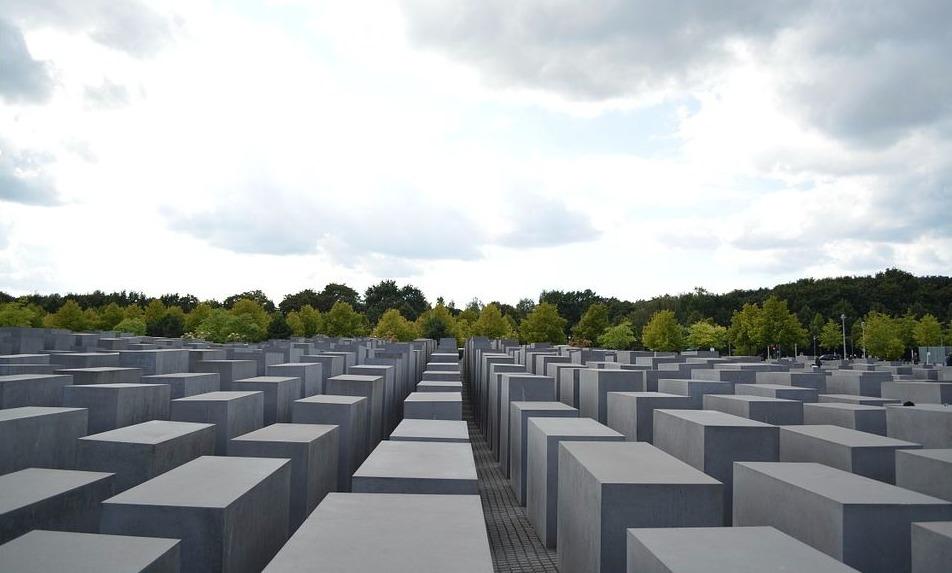 Holocaust-monument in Berlijn