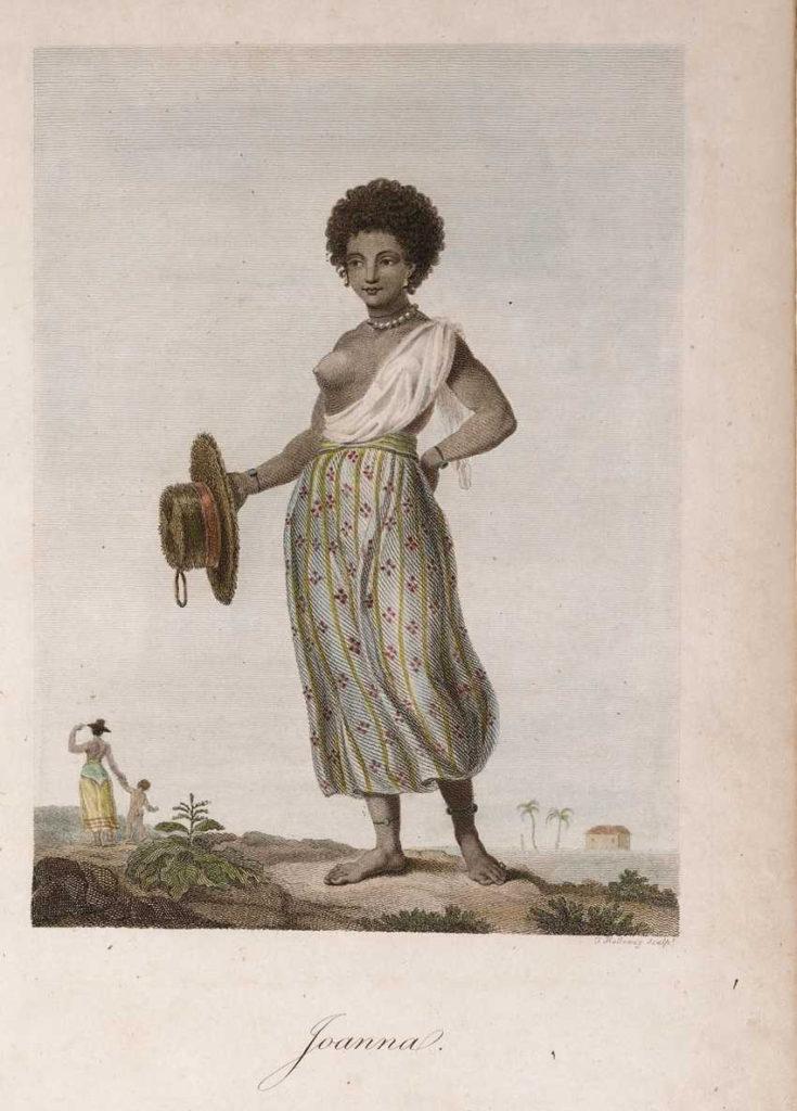 John Gabriel Stedman, 1744-1797, Joanna, Tropenmuseum Amsterdam