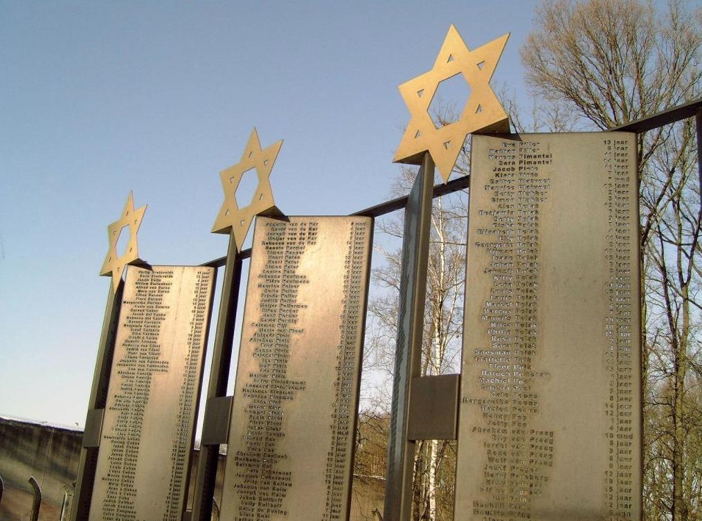 Monument der verloren kinderen in Vught