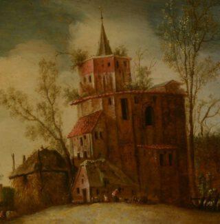 Detail van het werk van Petrus Schotanus