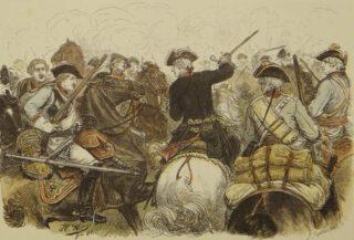Scene uit de Eerste Silezische Oorlog