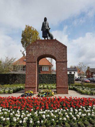 Monument voor Helena Kuipers-Rietberg ('tante Riek') in Winterswijk
