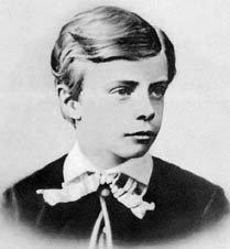 Theodore Roosevelt op elfjarige leeftijd
