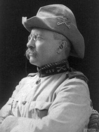 Theodore Roosevelt als kolonel