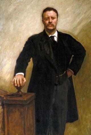 Officiële Witte Huis-portret van Theodore Roosevelt - Gemaakt door John Singer Sargent