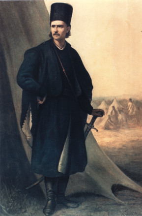 De Walachijse revolutionair Tudor Vladimirescu
