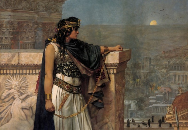 Zenobia's laatste blik op Palmyra