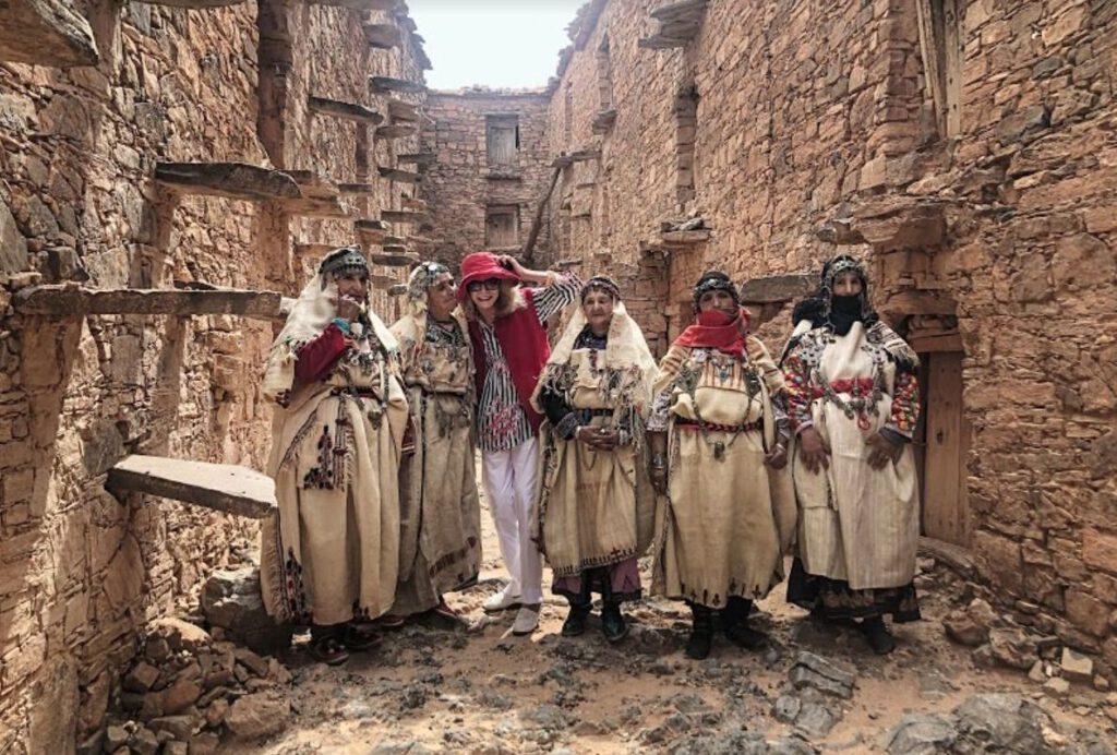 BerbervrouweBerbervrouwen - Foto uit 'Berber Memories – Women and jewellery in Morocco'