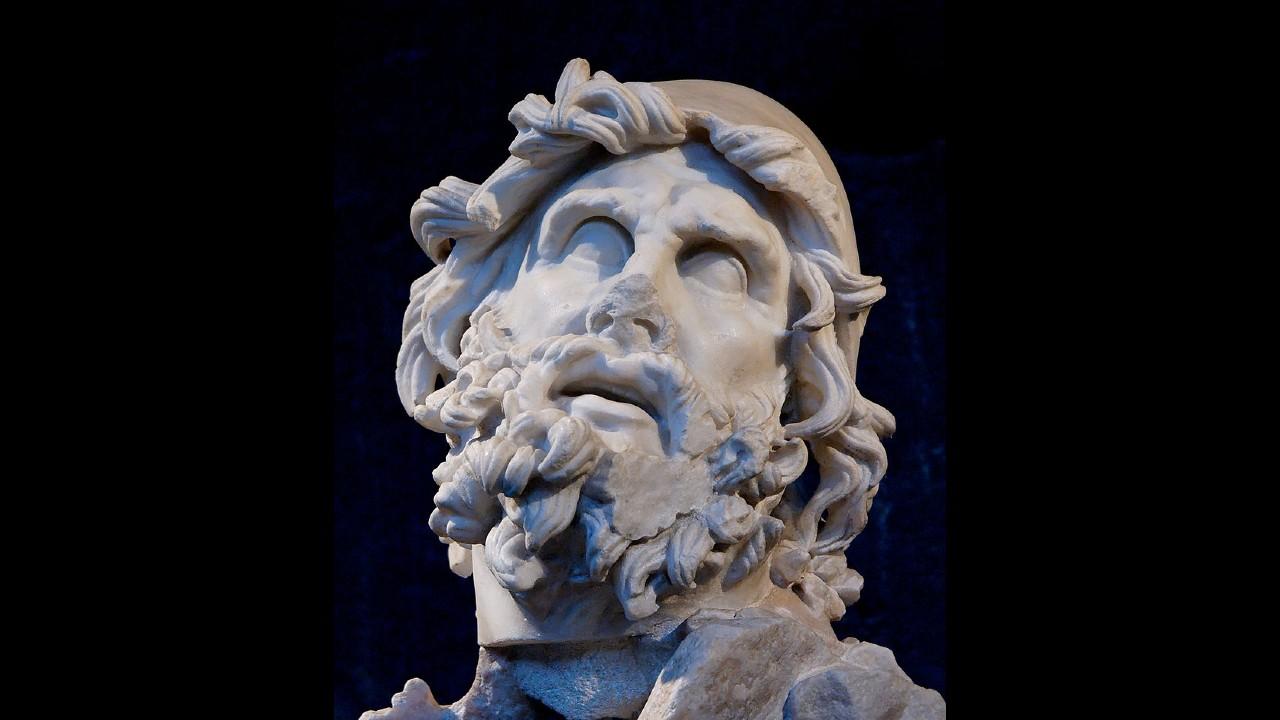 Buste van Odysseus uit de Romeinse tijd