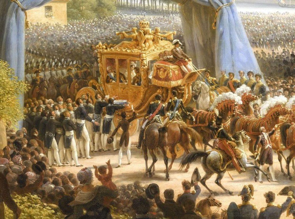 De gouden koets van Karel X - Louis-François Lejeune