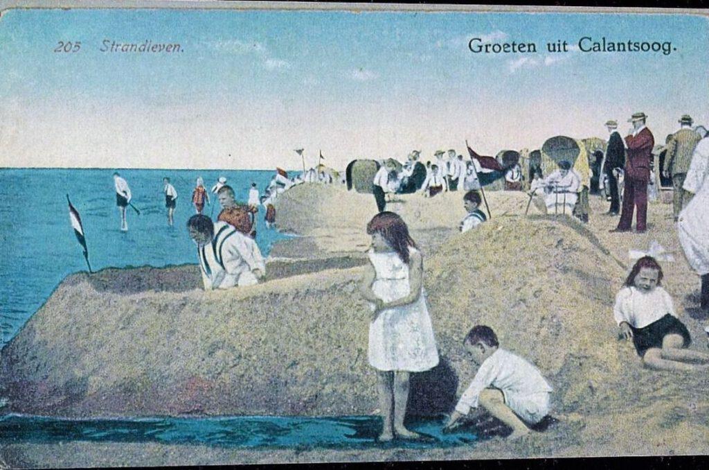 Het strand van Callantsoog – Historische Vereniging Callantsoog