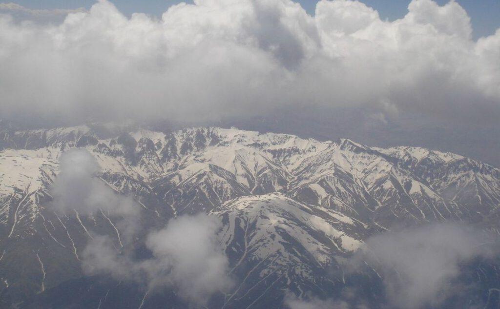 Hindoekoesj gebergte in het huidige Afghanistan