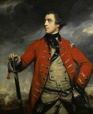 """Generaal John Burgoyne, bijgenaamd """"Gentleman Johnny"""""""
