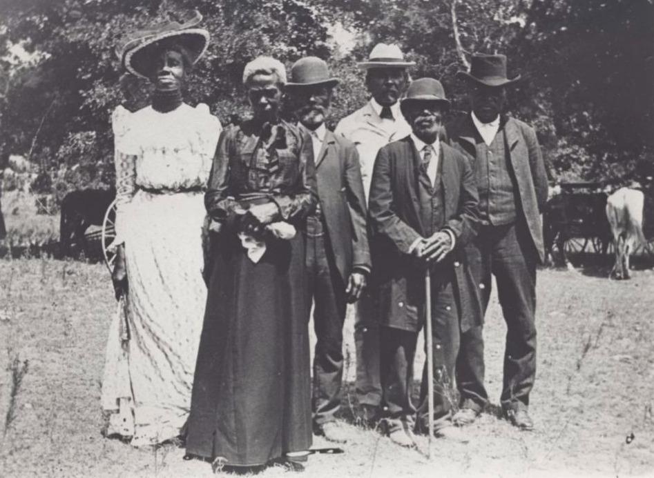 Viering van Juneteenth in Texas, 1900