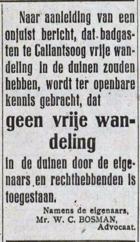 Krantenbericht, 1920 - Schager Courant