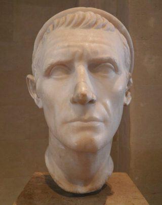 Marmeren buste van Antiochos III uit het Louvre (CC BY-SA 2.0 - Carole