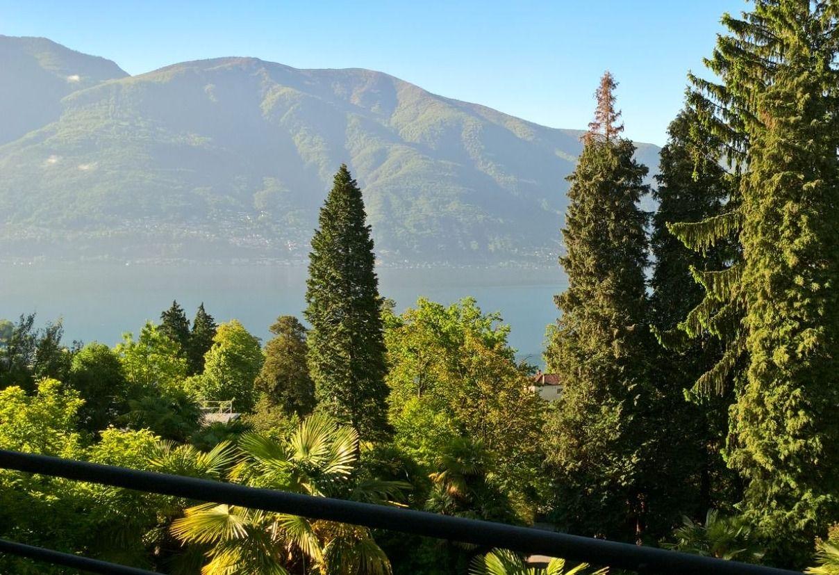 Zicht op Monte Verità