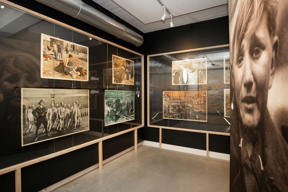 Een van de tentoonstellingszalen - Foto: Studio Indruk via Nationaal Onderwijsmuseum