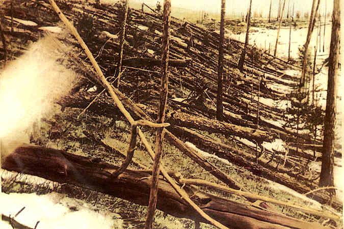 Ravage na de Toengoeska-explosie