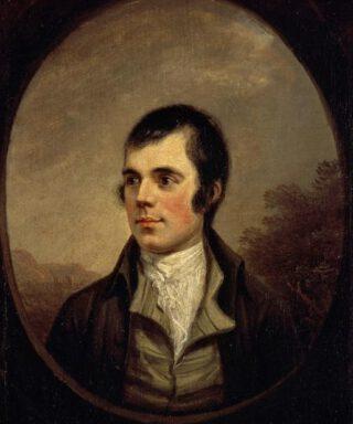 Robert Burns - Geportretteerd door Alexander Nasmyth, 1787