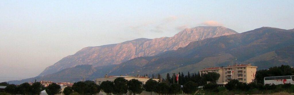 Locatie waar in 190 v.Chr. de Slag bij Magnesia plaatsvond
