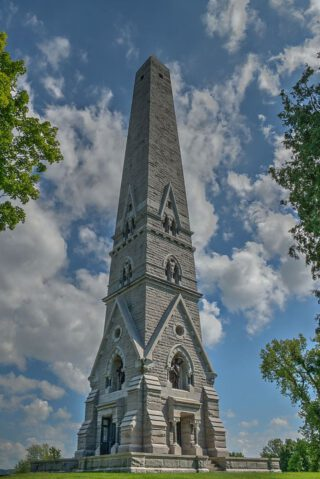 Obelisk ter herinnering aan de Slag bij Saratoga
