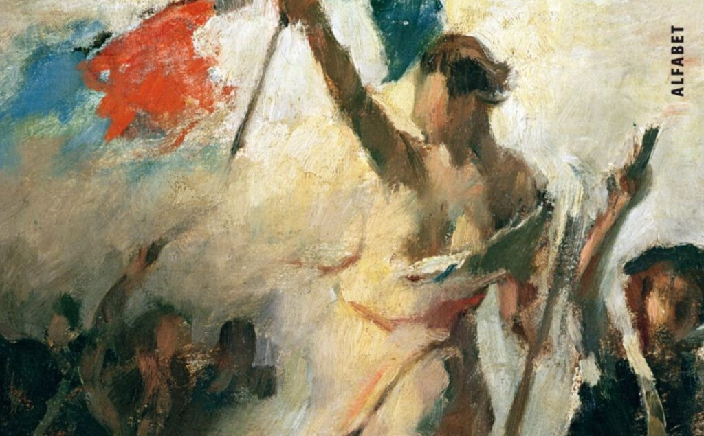 Vrijheid - Detail van de boekcover