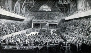 Proces tegen Warren Hastings in Westminster Hall, 1788