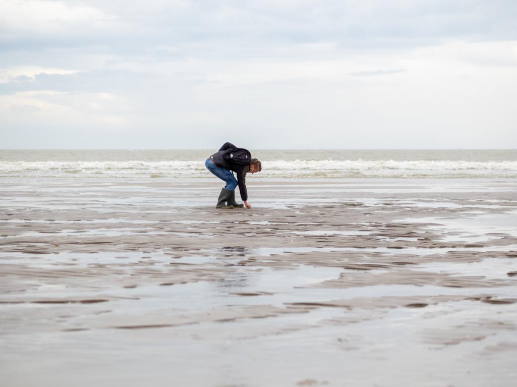 De Zandmotor voor Kijkduin is een populaire vindplaats van artefacten uit Doggerland