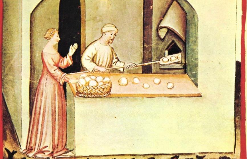 Broodwinkel in het noorden van het huidige Italië, begin 15e eeuw