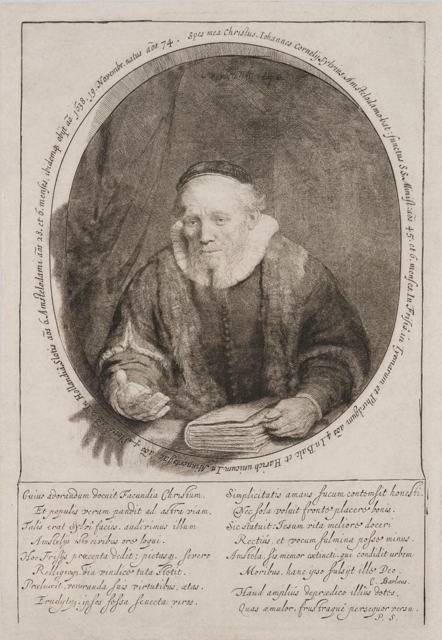 Rembrandt van Rijn, De predikant Jan Cornelisz Sylvius (1564-1638), 1646