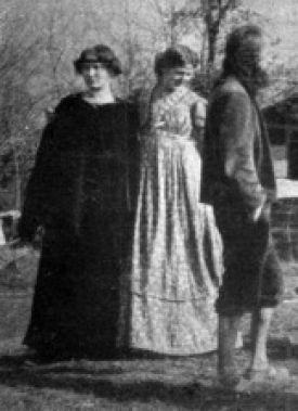 Ida Hofmann-Oedenkoven, Lotte Hattemer, Henri Oedenkoven; drie van de oprichters van Monte Verità