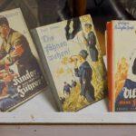 Kinderboeken uit het Derde Rijk, tentoongesteld in een museum in Noorwegen, 2019