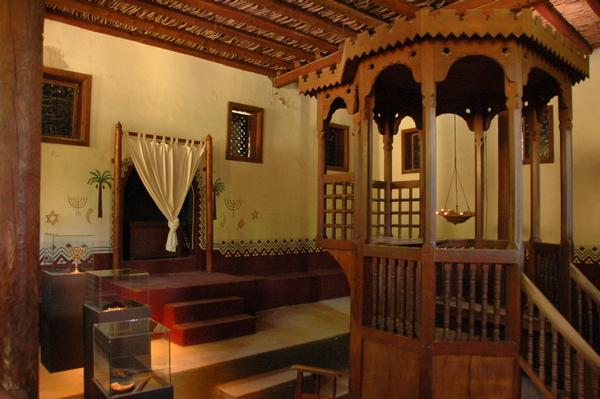 Reconstructie van een antieke synagoge (Museumpark Orientalis)