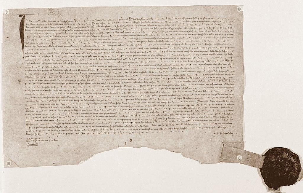 Stadsrechtencharter Rotterdam, 7 juni 1340