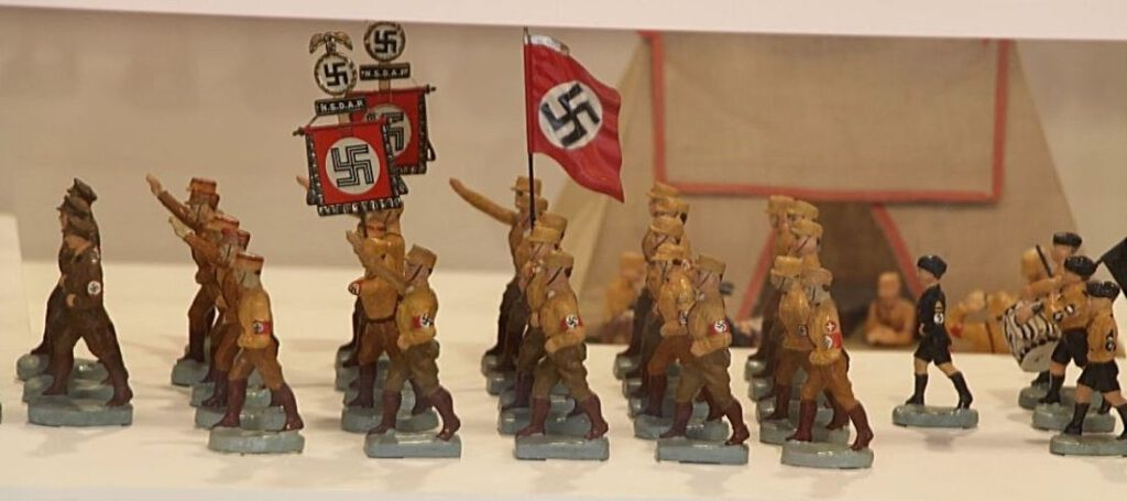 Tinnen soldaatjes uit het Derde Rijk