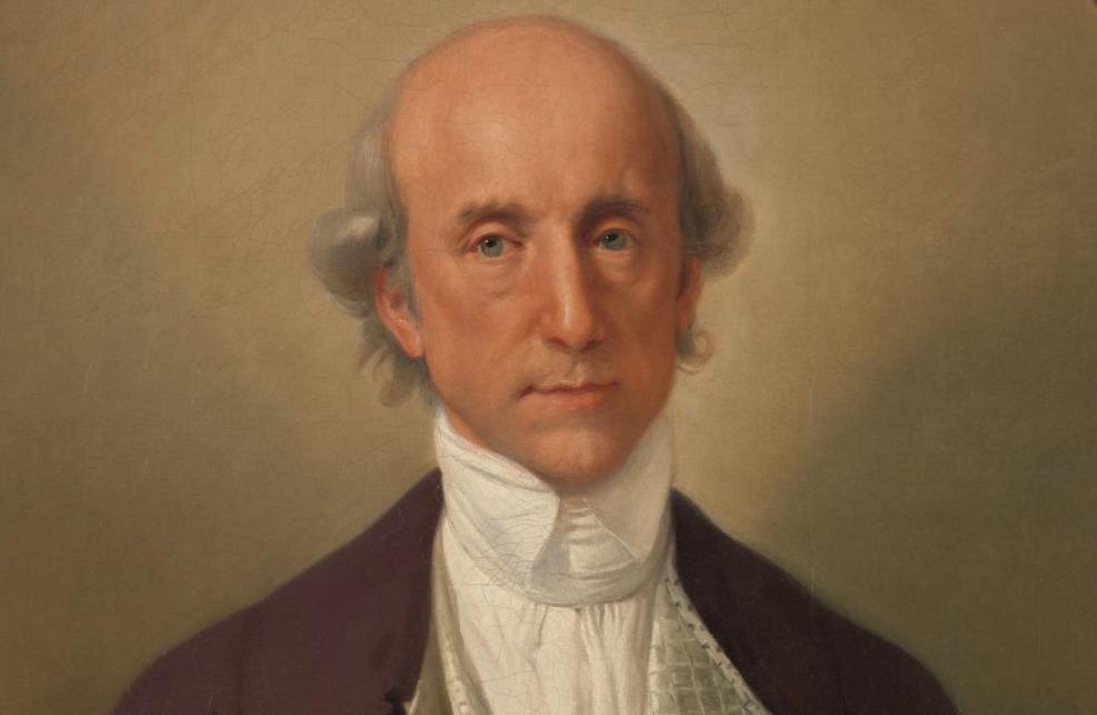 Warren Hastings, portret door Johann Zoffany, rond 1783-1784, collectie van het Yale Center for British Art.