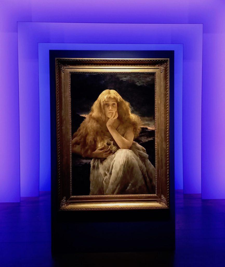 Alfred Stevens, Maria Magdalena, ca. 1887. Gent, Museum voor Schone Kunsten. Foto Marina Marijnen