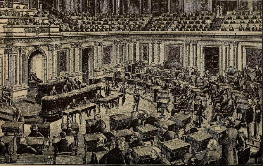 Amerikaanse Senaat rond 1888