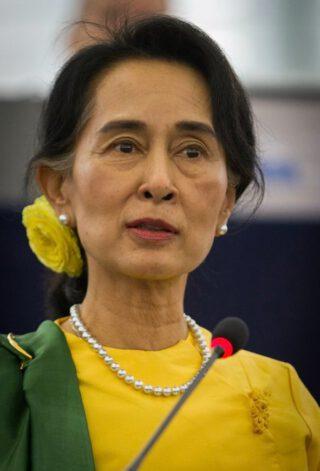 Aung San Suu Kyi in 2013