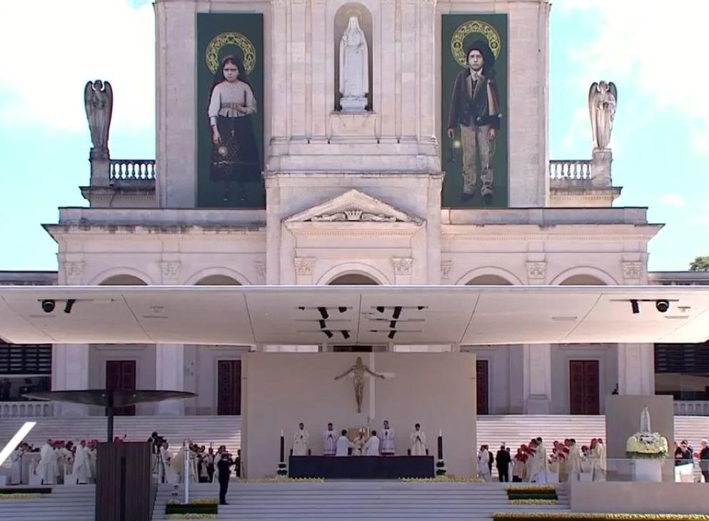 Heiligverklaring van Jacinta en Francisco Marto door paus Franciscus in mei 2017