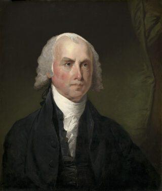 Ritratto di James Madison - Gilbert Stewart, circa 1821