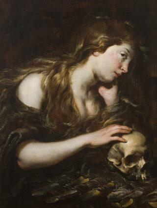 Jan Cossiers, Boetvaardige Maria Magdalena, Collectie Jan Six Fine Art.