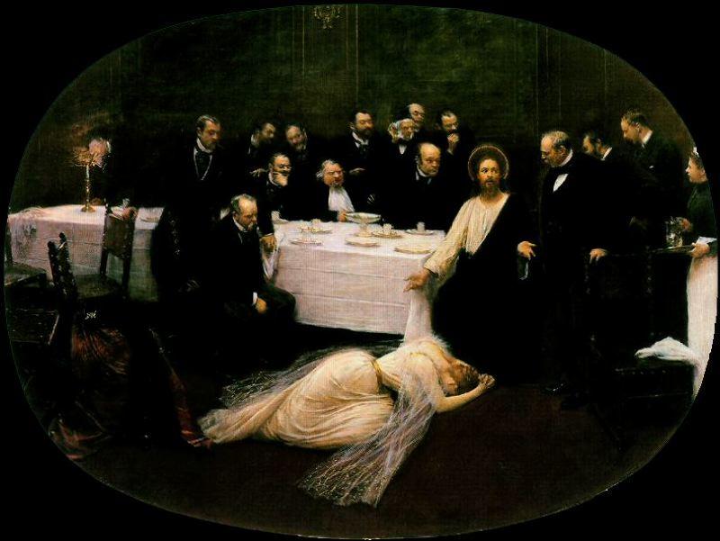 Jean Béraud, La Madeleine chez le Pharisien, 1891
