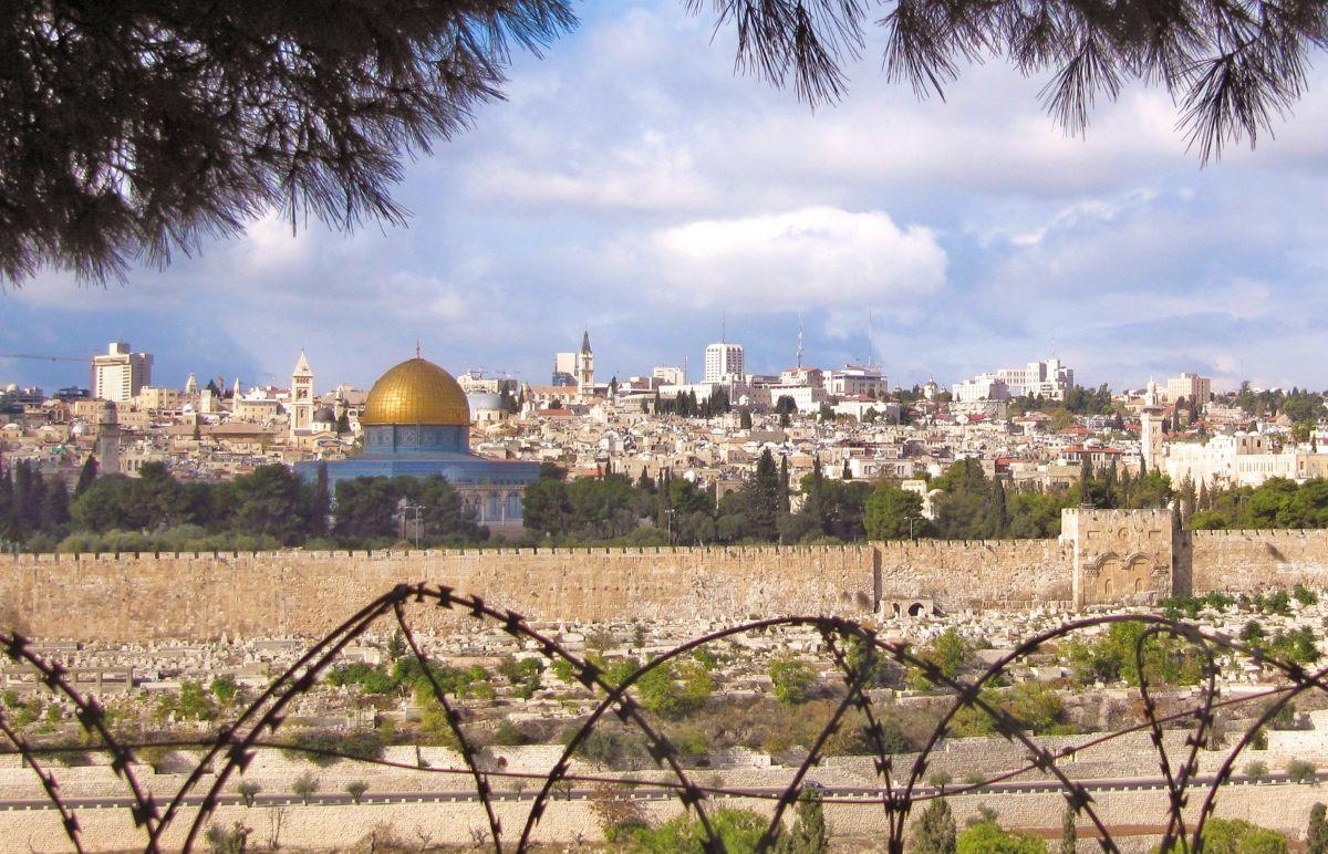 Zicht op Jeruzalem