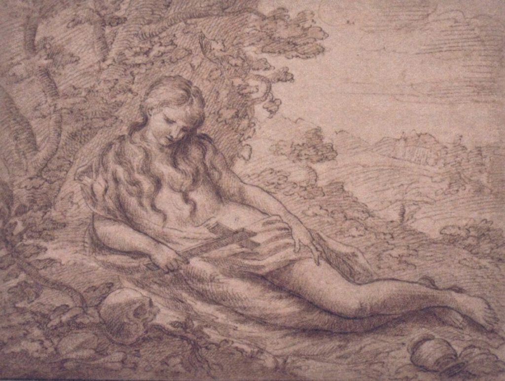 Juan Maria Caballero (?) Heilige Maria Magdalena, 1650-1670, Museum Catharijneconvent Utrecht