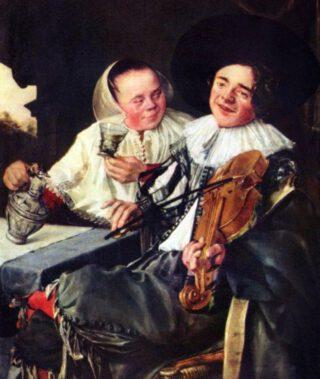 Het gelukkige paar - Judith Leyster, 1630