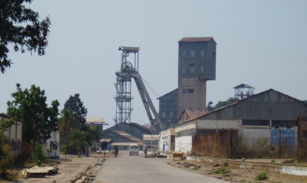 Kamoto-mijn in Congo
