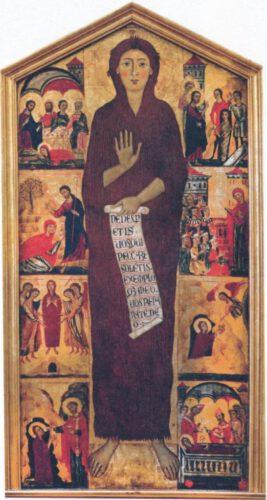 Magdalena Meester, Maria Magdalena met acht episodes uit haar vita, 1280-1285, Florence, Galleria dell' Accademia.