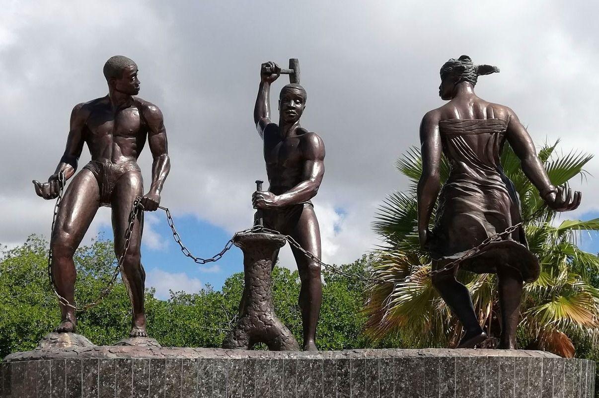 Monument voor de slavenopstand van Tula op Curaçao